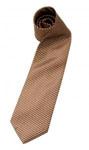 brązowy krawat